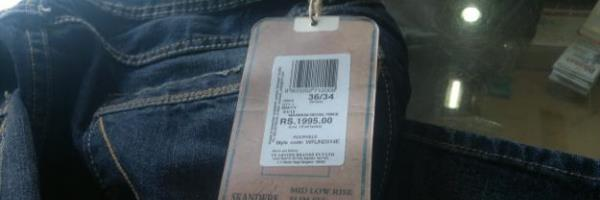 clothing price tag