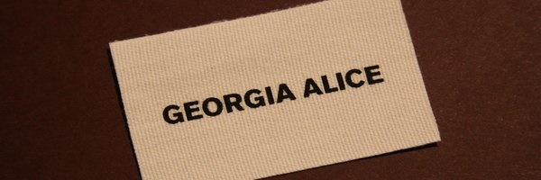 Georgia Alice Woven Clothing Label