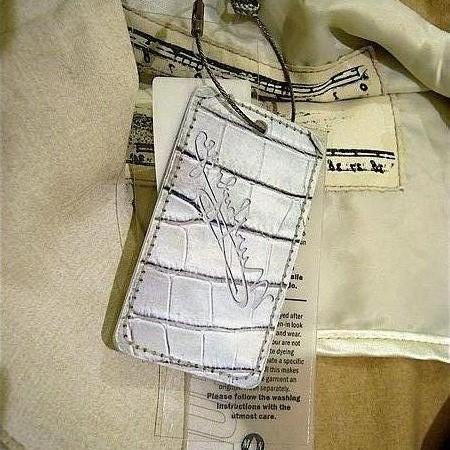clothing swing tag murphy & nye