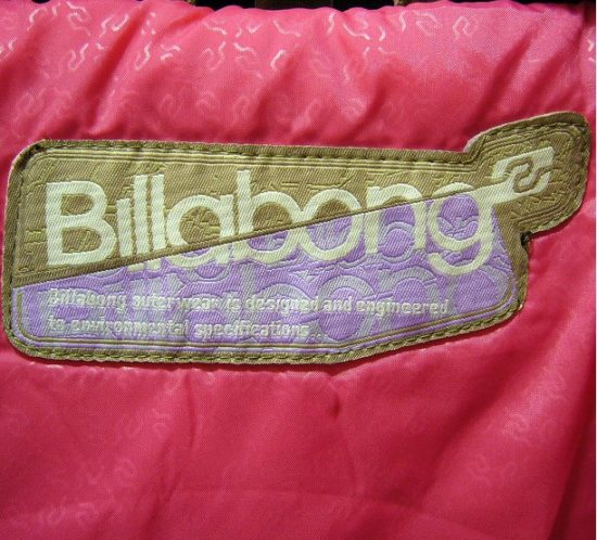 Clothing patch Billabong