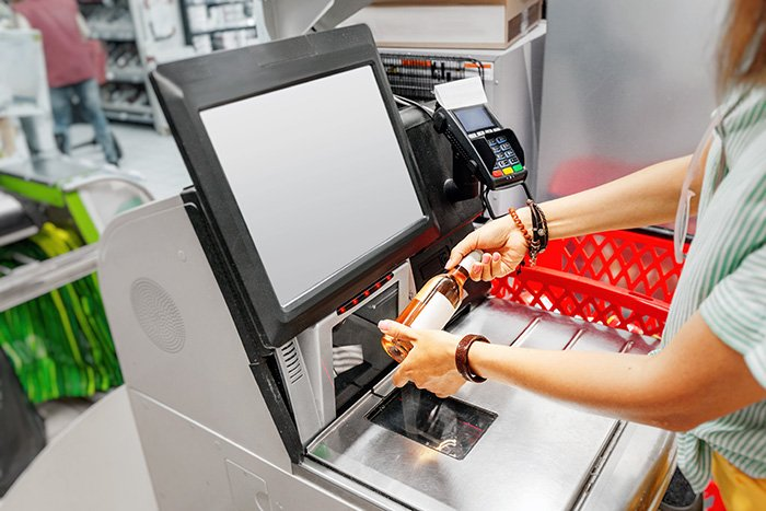 self-serve checkout