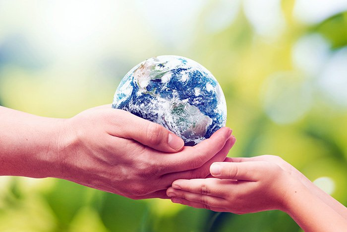 Handing over the Earth