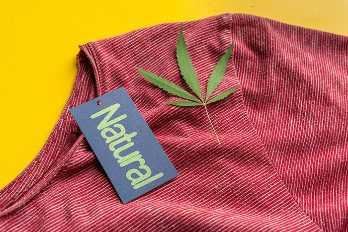 Natural clothes made from hemp