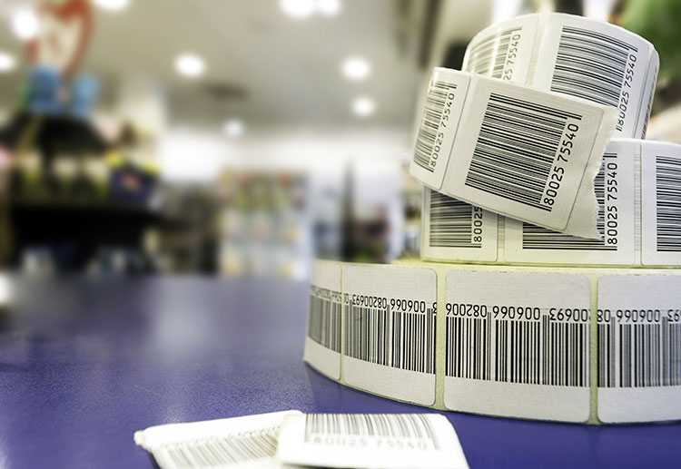 RFID tags with barcodes