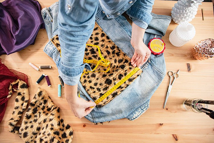 Designers upcycling clothes