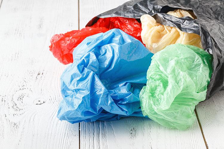 single-use plastic bags