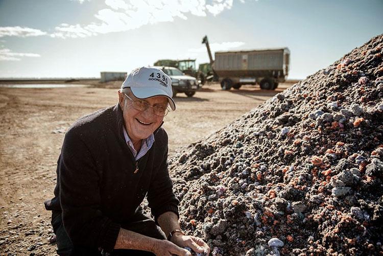 Farmer Sam Coulson